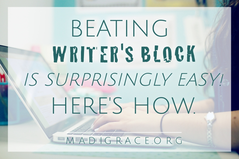 Beating Writer's Block Is Surprisingly Easy! Here's How.