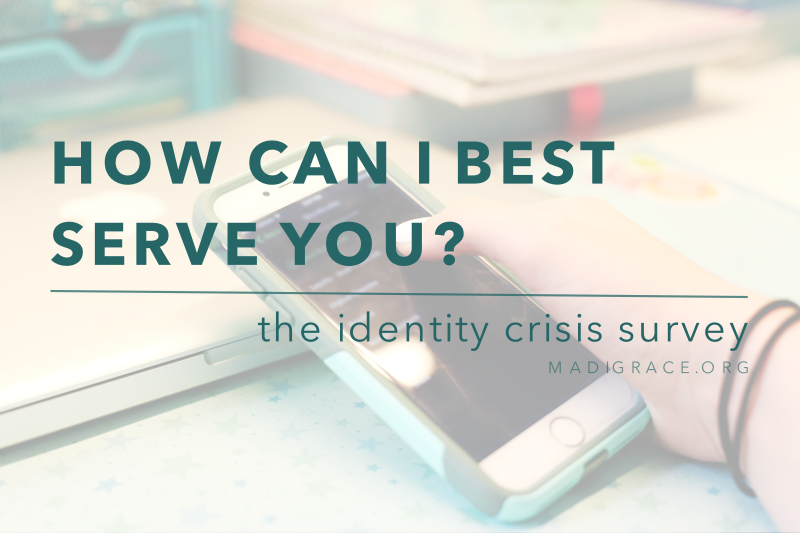 How Can I Best Serve You? | The Identity Crisis Survey